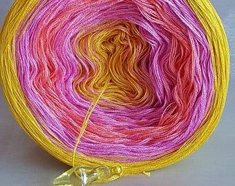 """Color Gradient Yarn """"Happy life"""""""