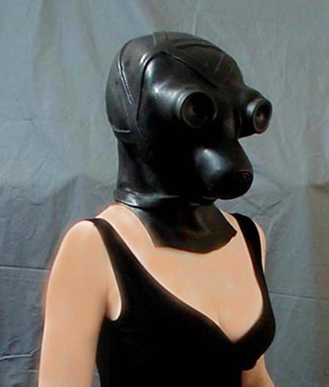 Latex Maske Fetisch
