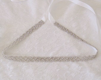 Bridal sash, bridal belt, wedding belt, wedding dress belt,Crystal bridal sash wedding gown sash rhinestone belt Kate sale