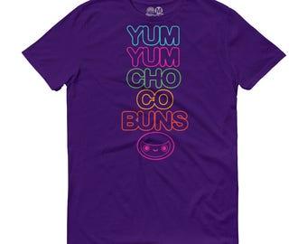 Men's Yum Yum Chocobuns Rainbow Flavor Tee