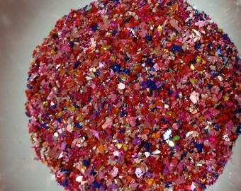 German Glass Glitter - Ruby Glimmer