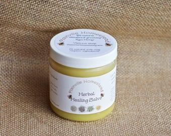 Organic Herbal Healing Salve || Healing Cream || Herbal Salve