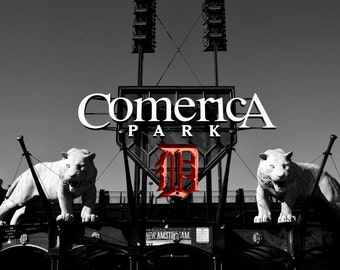 Comerica Park, Detroit Tigers, Michigan- Photography Prints