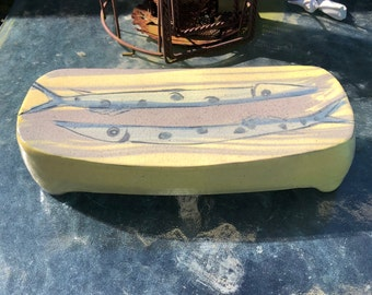 Fish Footed Serving Plate
