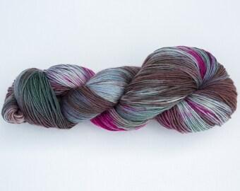 Dyed wool socks creative supply tricotcolor wool wool yarn haberdashery handdyewool Rainbow yarn crochet knit