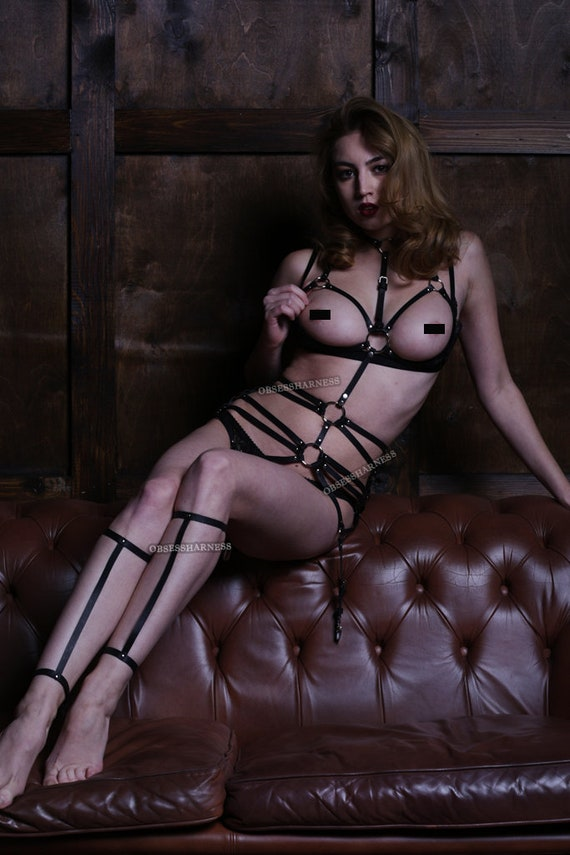 Fetish Bdsm body Fetish Leather harness harness cage harness Body Full Leather Sexy Body Full body body lingerie Body harness harness ZOBw5Yq