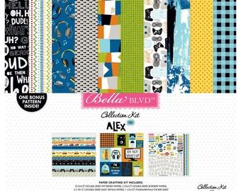 Alex - 12 x 12 Paper Collection Kit