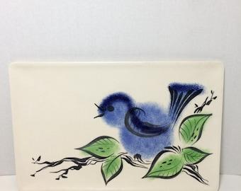 Vintage Bird Platter