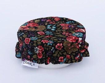 Mini cover - vintage flower - Bowl covers reusable ramekin - Zero waste
