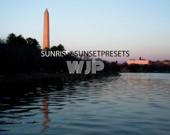 Sunrise/Sunset Adobe Lightroom Editing Preset