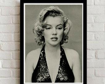 Sad Marilyn, Retro/Vintage Marilyn Monroe Wall Art, digital download, instant download, printable