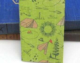 Pocket Camping Planner / Notebook / Journal / Sketchbook