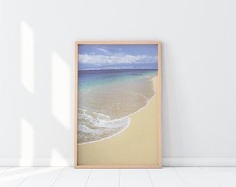 A beautiful Ocean work poster - Instant Download modern Printable Art Wall Decor