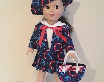18 Inch Girl Doll Outfit #176