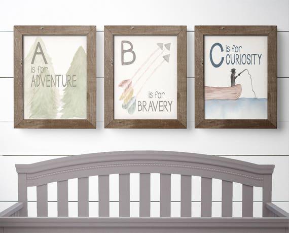Printable Nursery Decor Boy Rustic Nursery Decor For Boys
