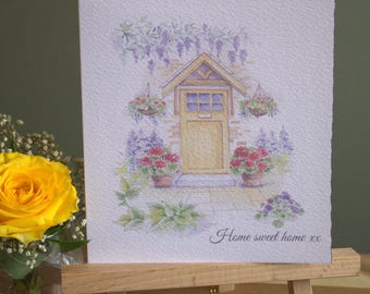 """6"""" x 6"""" New Home Card & Envelope"""