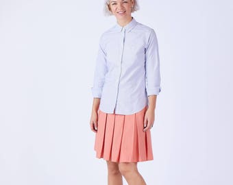 Womens Striped Fitted Shirt