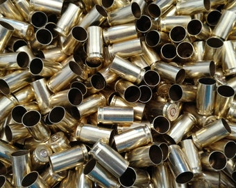 Once Fired 45 Auto Indoor Range Brass Highly Polished