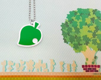 Animal Crossing New Leaf Pendant