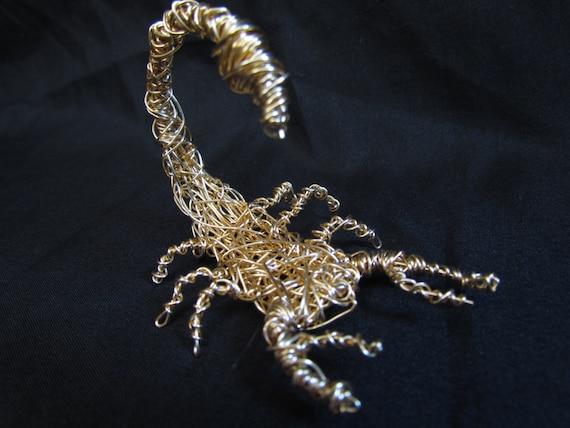 Golden Wire Scorpion