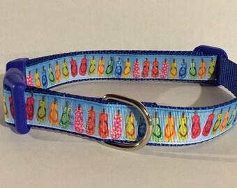 Flip Flop Fun Dog Collar