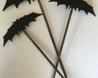 Metal Bats SET Garden & Yard Stakes