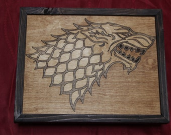 Game of Thrones Stark House Sigil