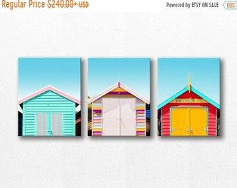 ON SALE beach house canvas wall art set beach photography canvas print 11x14 16x20 fine art photography nautical decor beach canvas art blue