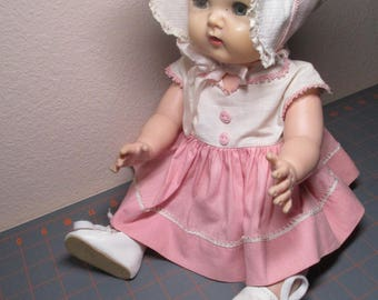 Vintage Tiny Tears Doll By American Character - 1950's