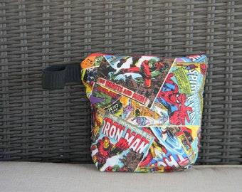 Super Hero Cosmetic Bag