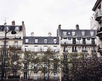 Intrepid Poet - Paris Landscape Photography Print