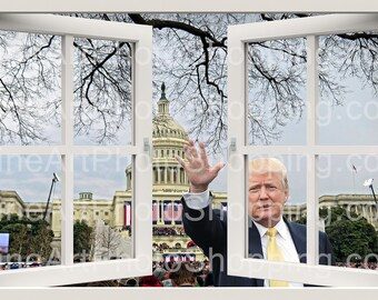 Donald Trump window