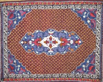 Magic Carpet hand-hooked rug