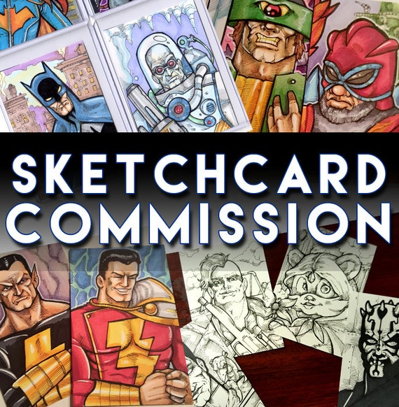 Custom Art Commission Artist Trading Card: Please Read the Description for information
