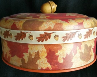 AUTUMN LEAVES Cake Cover