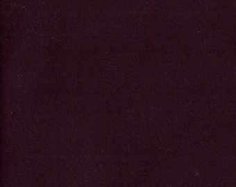 PLUM SUEDE Stretch Polyester Knit, by the yard