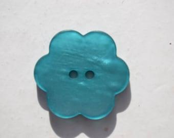 fancy flower diameter 28 mm button