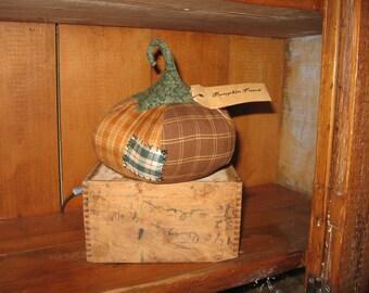 Pumpkin Patch - fall/autumn shelf sitter