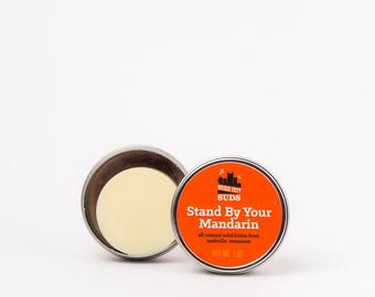 Stand By Your Mandarin - Solid Lotion Bar