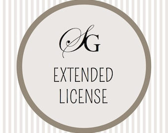 Extended License - Extended use for digital designs