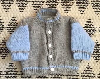 Baby-College Jacke Größe 0-6 Monate