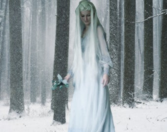 Photomanipulation - Kehr, Goddess of Winter
