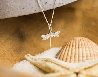 Necklace Dragonfly 925 Sterling Silver