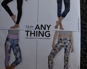 Simplicity 8212  Up for Anything Misses Knit Leggings in sizes XXS-XXL (uncut)