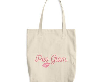Pro Glam tote | Bachelor quotes | Ive always been Pro Glam | Cotton tote | School bag | Teen tote | Laptop case | Fashion tote