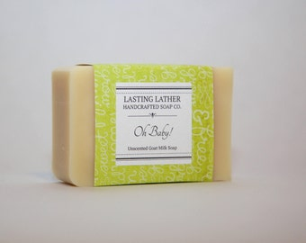 Goat's Milk (Unscented) Baby Cold Process Soap