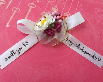 Will you be my bridesmaid? bow - 1 bow