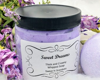 Sweet Dreams Whipped Soap