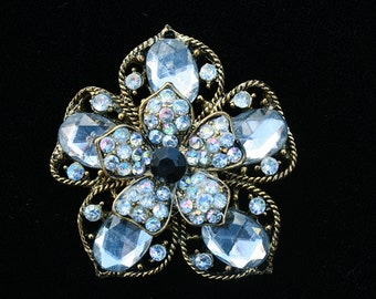 Vintage Rhinestone Flower Wedding Special Occasion Any Occasion