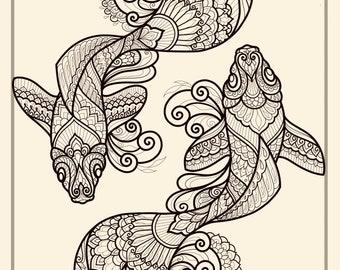 Pisces Print